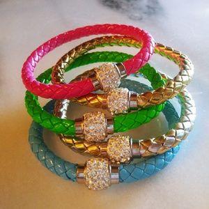 Beautiful rhinestone Bangles 2 per price